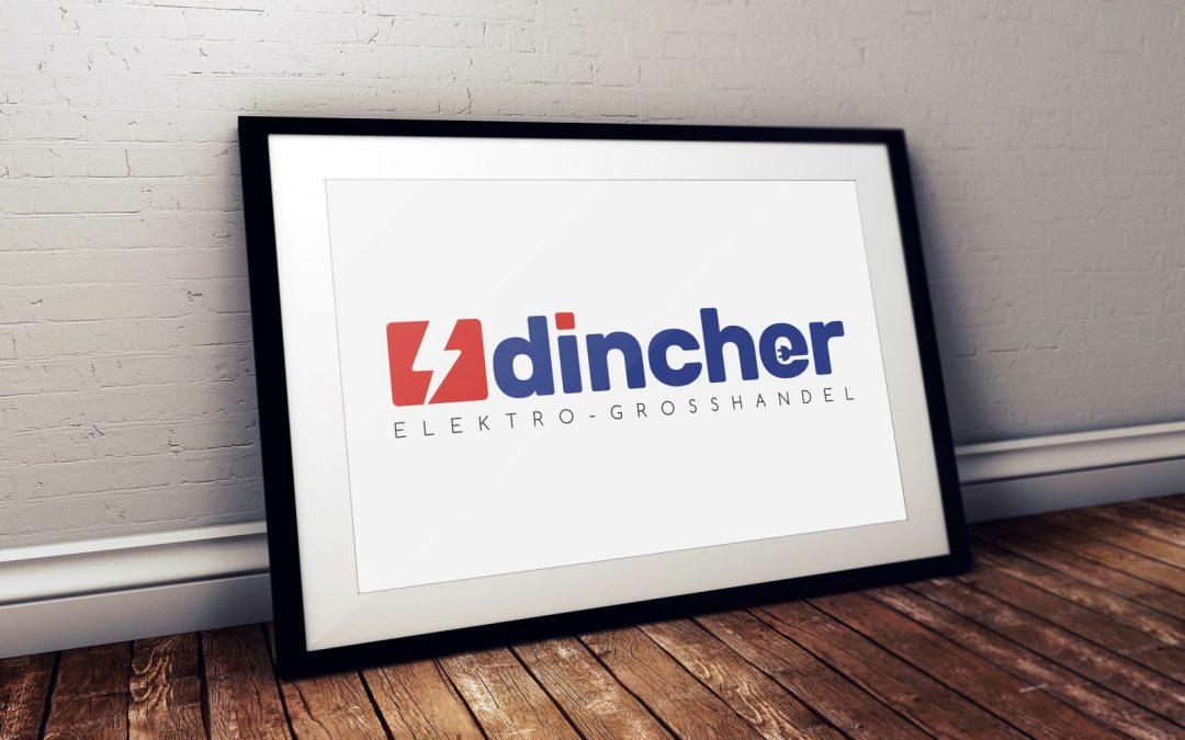 Logo-Design für Dincher Elektrogroßhandel
