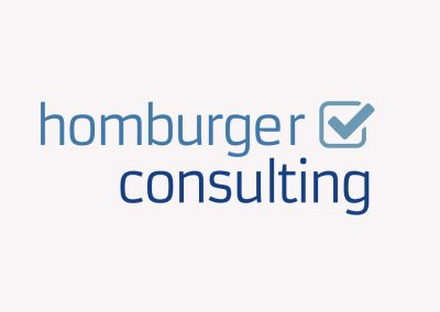 Markenführung für homburger consulting GmbH