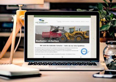 Neu im Netz: Gebrüder Schwinn GmbH