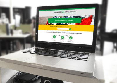 Webshop für Wolfanger Umweltservice